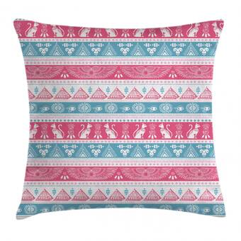 East Urban Home Pink Pebbles I Throw Pillow Wayfair