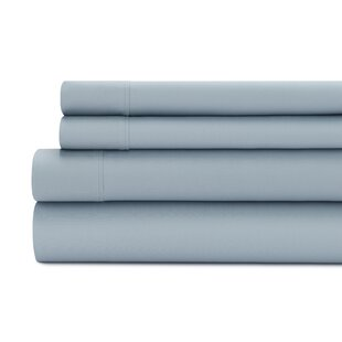 Tamarack 400 Thread Count Cotton Satin Sheet Set (Set of 4)