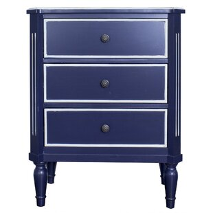 Hernadez 3 Drawer Accent Chest