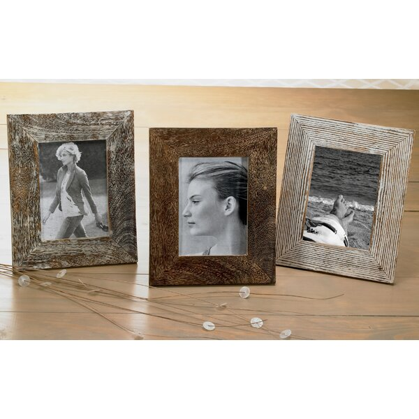 Union Rustic 3 Piece Distressed Wood Picture Frame Set & Reviews ...