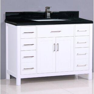Reviews Flannery 49 Single Bathroom Vanity Set ByEbern Designs