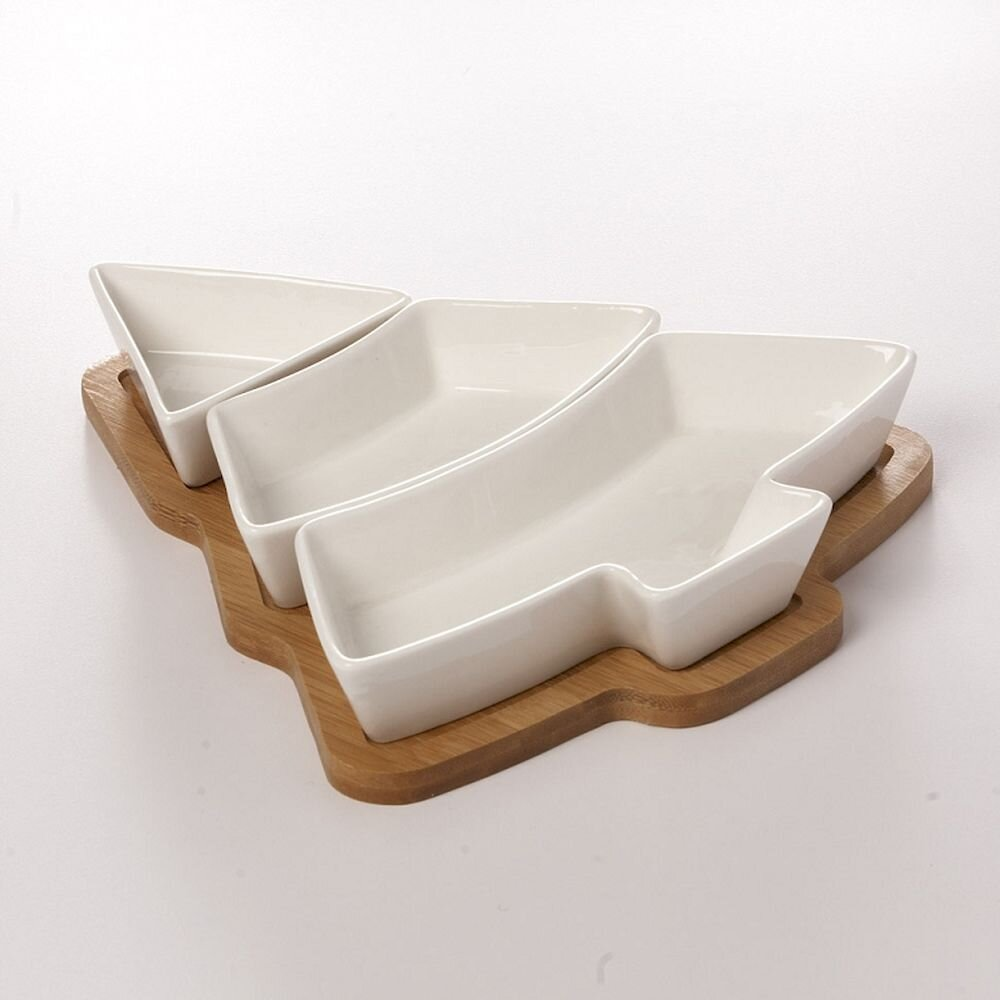 Abstract Wooden Serving Dishes You Ll Love In 2021 Wayfair