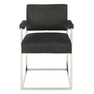 Greyleigh Chaffee Velvet Armchair