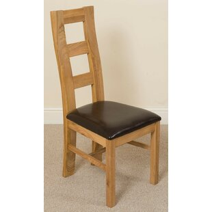 Solid Wood Upholstered Dining Chair By ClassicLiving