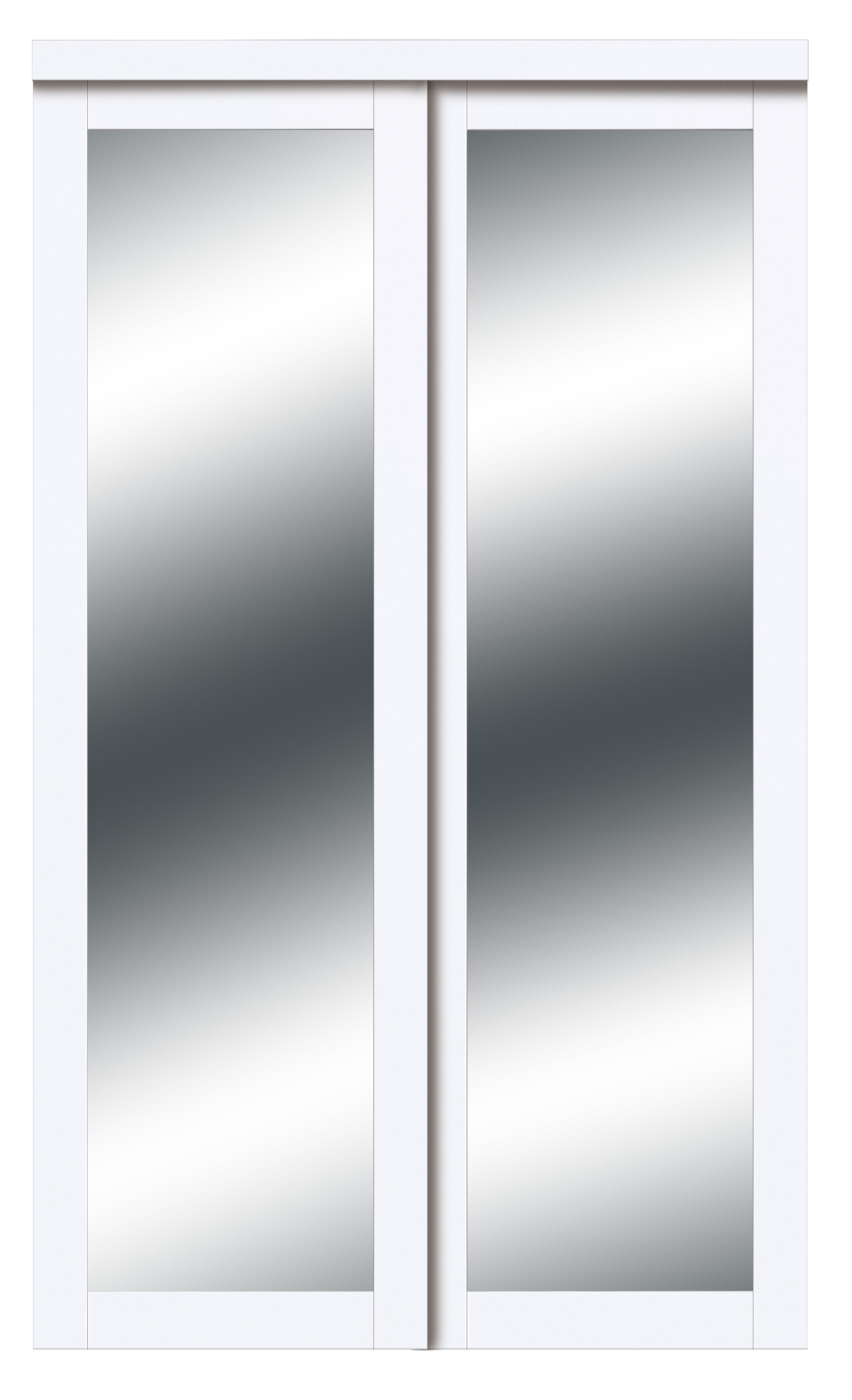Renin Harmony Mirrored Sliding Closet Doors Reviews Wayfair Ca