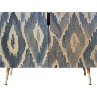 2 Door Accent Cabinet by East Urban Home SKU:CB577691 Buy