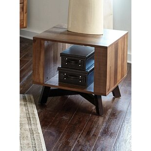 Belew Wooden End Table