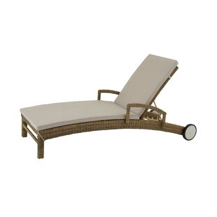 Cole & Grey Chaise Lounge with Cushion