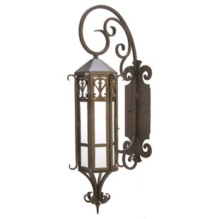 Caprice 1-Light Outdoor Wall Lantern by 2..