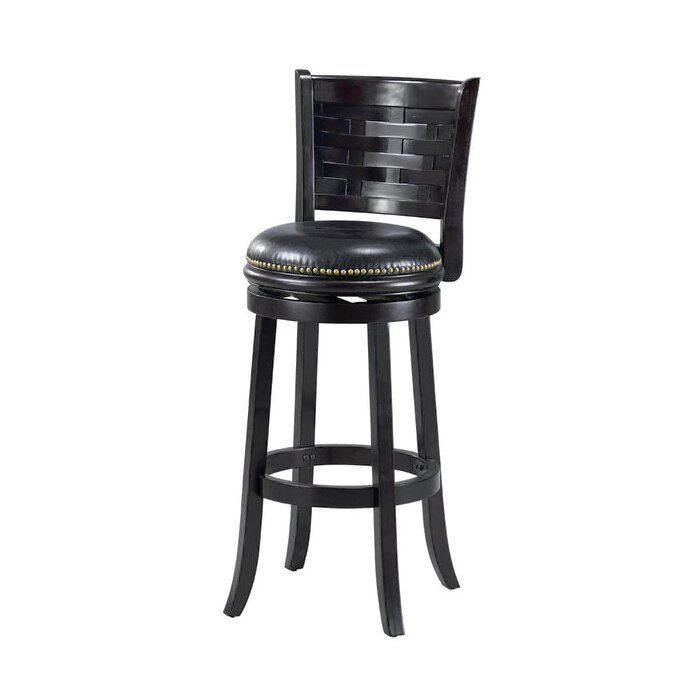 Groovy Brooklyn 29 Swivel Bar Stool Cushion Gamerscity Chair Design For Home Gamerscityorg