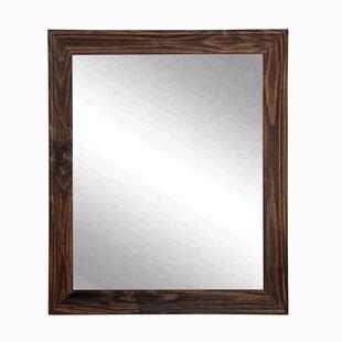 Brandt Works LLC Rustic Espresso Wall Mirror