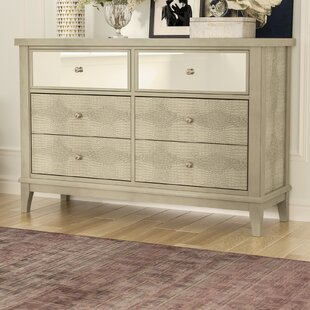 Clementina 6 Drawer Double Dresser