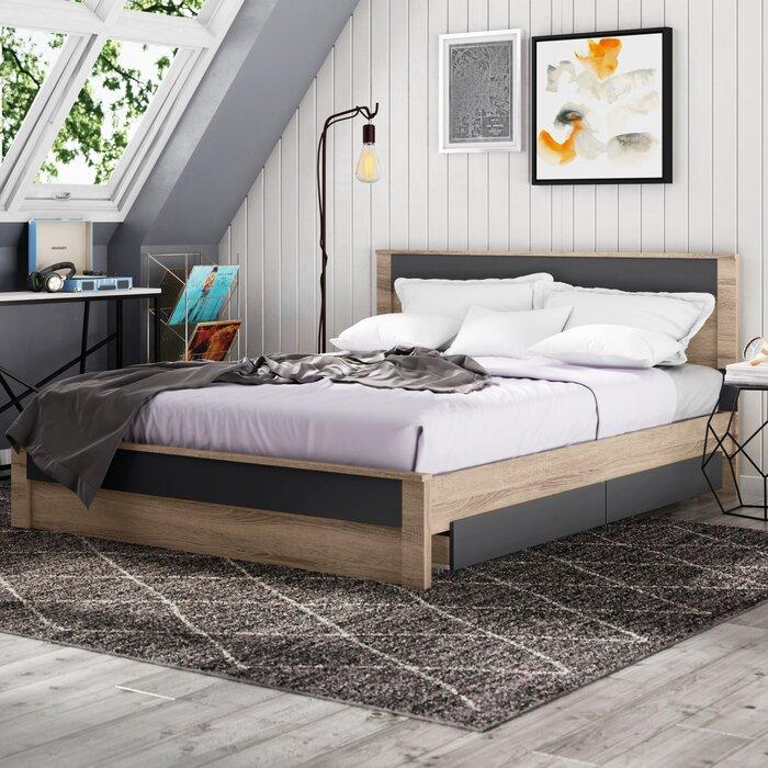 Ashton Queen Storage Platform Bed