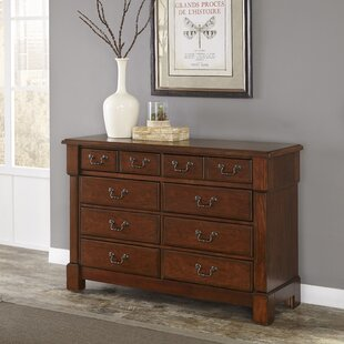 Read Reviews Cargile 8 Drawer Double Dresser by Darby Home Co