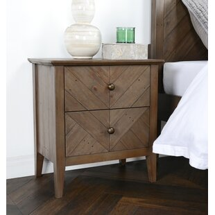 Kidsgrove 2 Drawer Nightstand by Three Posts