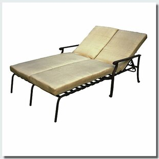 Red Barrel Studio Andrew Double Chaise Lounge with Cushion