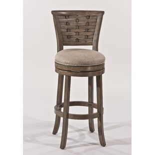 Amethyst 26 Swivel Bar Stool Beachcrest Home