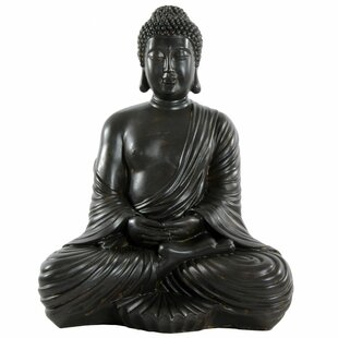 Large Sitting Buddha Figurine
