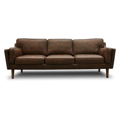 Awe Inspiring Union Rustic Kaufman Mid Century Modern Leather Sofa Pdpeps Interior Chair Design Pdpepsorg