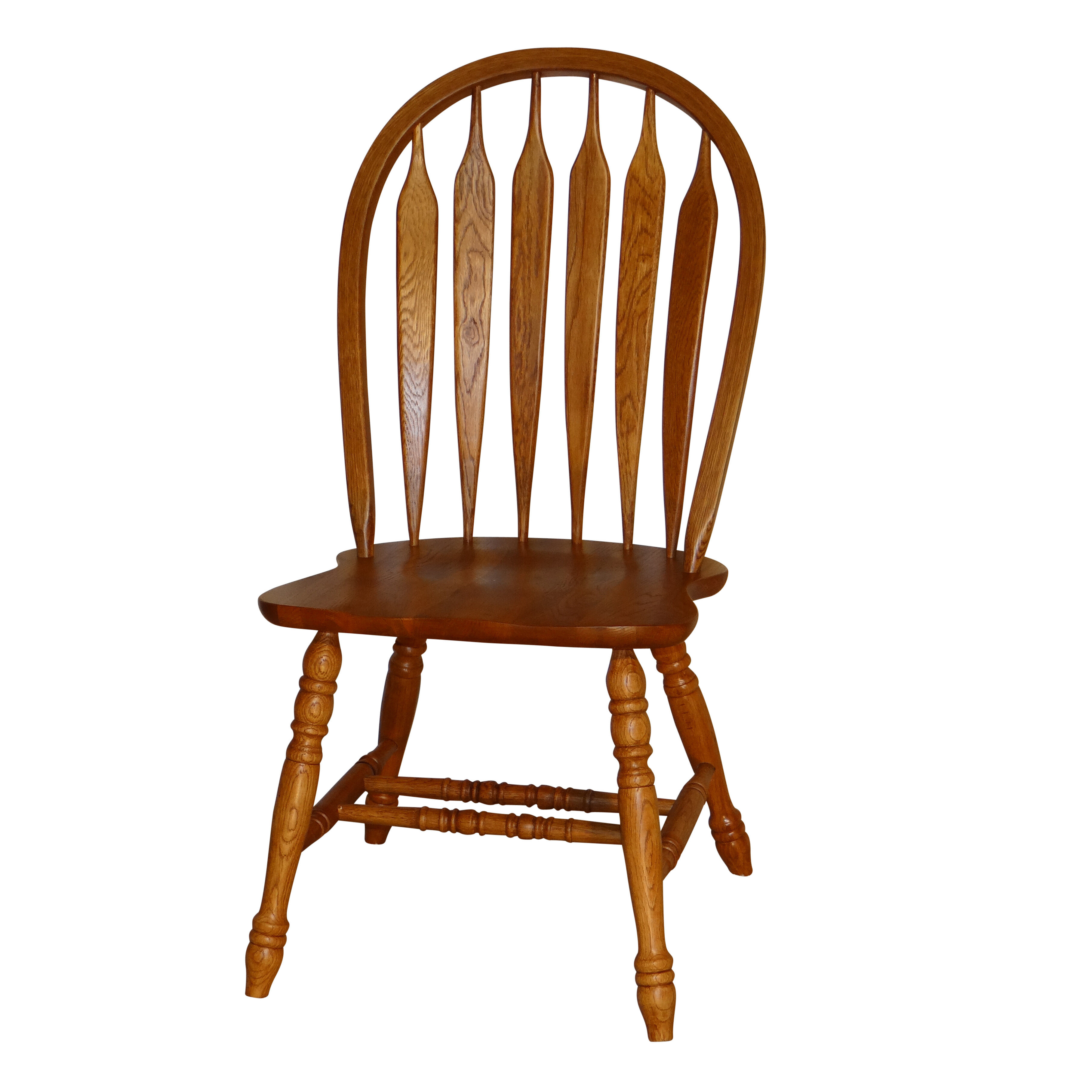 Red Barrel Studio Tyrell Curved Arrowback Solid Wood Dining Chair Reviews Wayfair