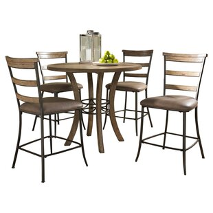 Rude 5 Piece Counter Height Dining Set