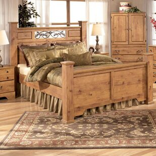 Cheyanne Panel Bed by August Grove