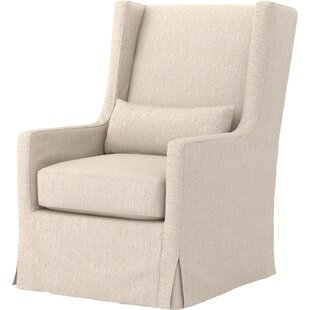 Sabina Swivel Wingback Chair by Design Tree Home
