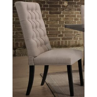 Tweedy Upholstered Dining Chair (Set of 2) Gracie Oaks