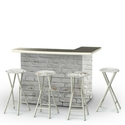 Valerton 7 Piece Bar Set by 17 Stories Modern