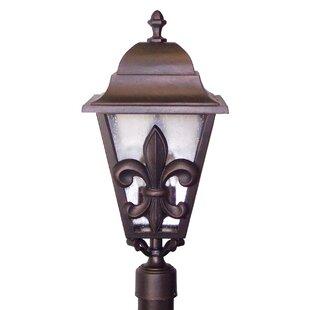 Affordable Penfield Fleur De Lis Series 3-Light Lantern Head By Alcott Hill