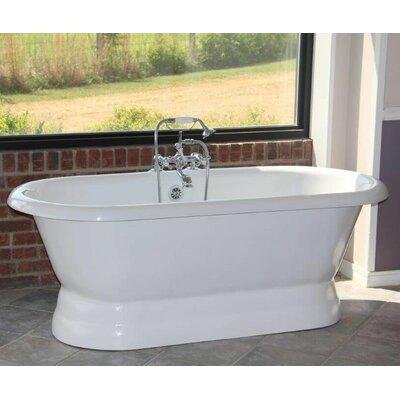 """Majesty 66"""" x 30"""" Freestanding Bathtub Restoria Bathtub Company"""