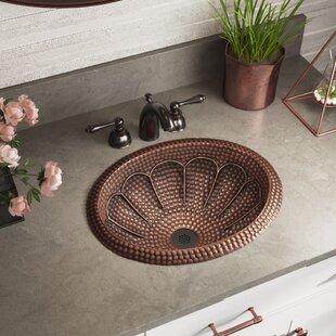 Metal Oval Bathroom Sink by MR Direct