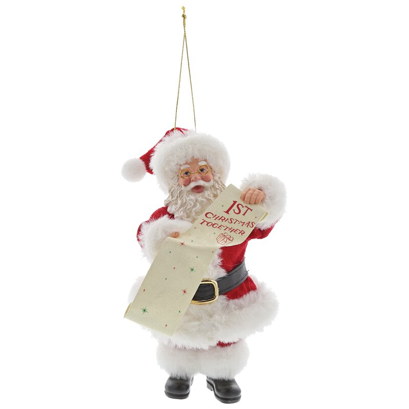 Possible Dreams First Christmas Together Ho Hanging Figurine Ornament Wayfair Co Uk