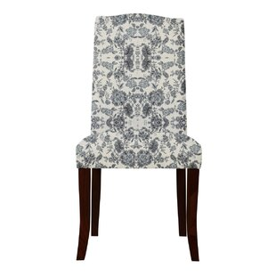 Red Barrel Studio Lasseter Classic Floral Parsons Chair (Set of 2)