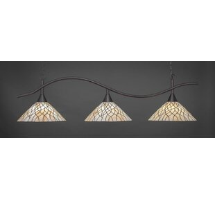 Red Barrel Studio Demi 3-Light Billiard/Island Pendant