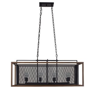 Union Rustic Minor 8-Light Kitchen Island Pendant