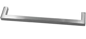 "Solid Stainless Steel Modern Pull 12 5/8"" Bar pull"