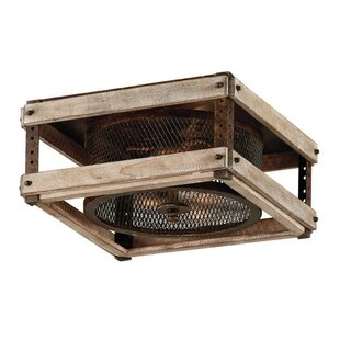 Union Rustic Gloska 3-Light Fl..