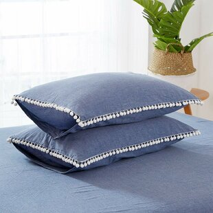 Meda Cotton Reversible Duvet Cover Set