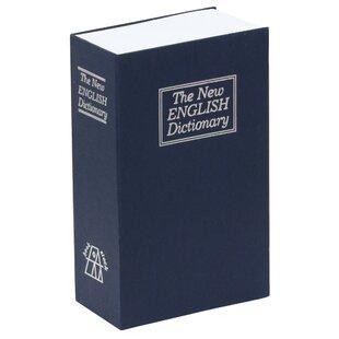 Key Lock Diversion Book Safe by SafeInside