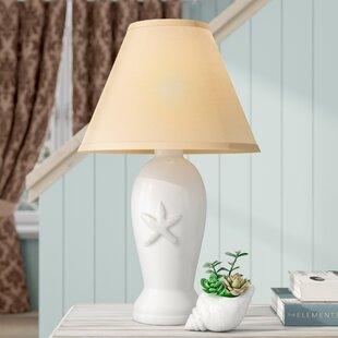 Best Shravan Embossed Starfish 19.25 Table Lamp By Highland Dunes