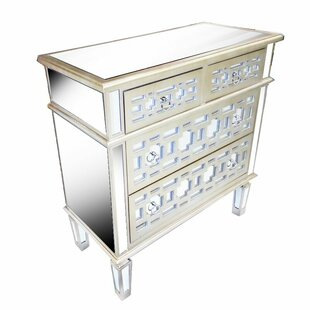 Baylee 4 Drawer Accent Chest by Rosdorf Park