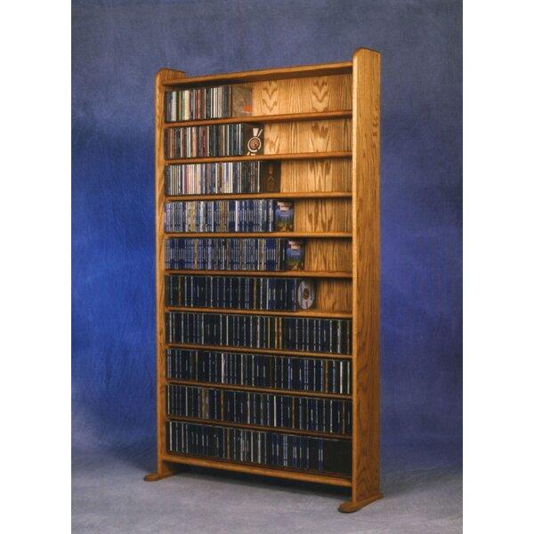 Marvelous Wood Shed 1000 Series 830 CD Multimedia Storage Rack U0026 Reviews | Wayfair