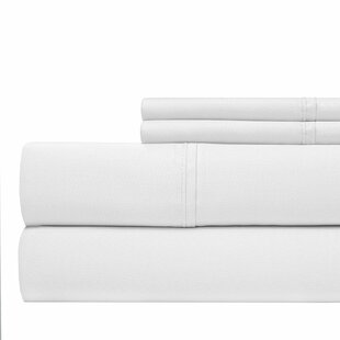 600 Thread Count 100% Cotton Sateen 4-piece Sheet Set