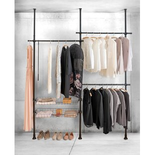 Mehara 215cm Wide Clothes Rack By Rebrilliant