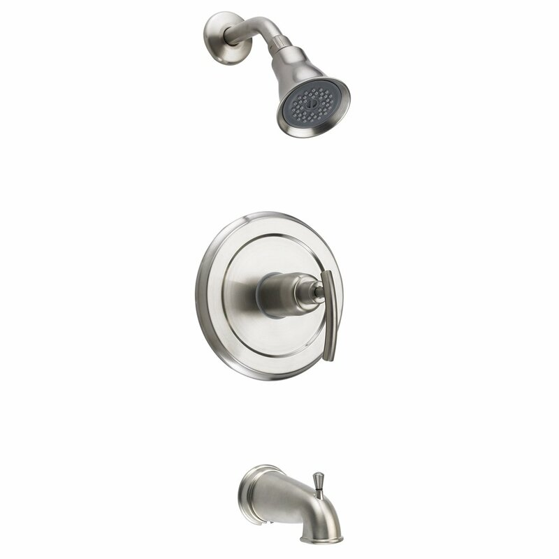 Fontainebyitalia Vincennes Single Handle Diverter Tub And Shower Faucet With Valve Wayfair