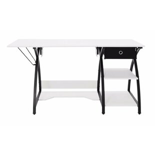 Comet Hobby Wood Sewing Table by Offex
