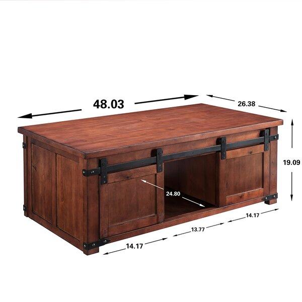 Rosalind Wheeler Eita Coffee Table With Storage Wayfair