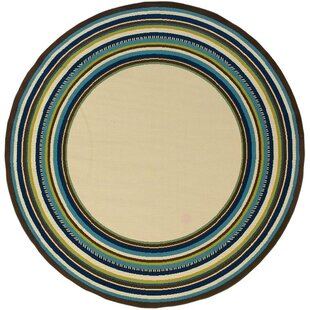 Brendel Looped/Hooked Polypropylene Beige Indoor/Outdoor