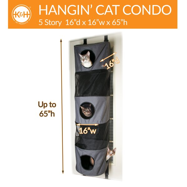 K H Manufacturing 65 Hangin Cat Condo Wayfair